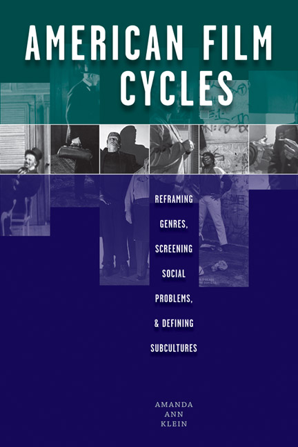 American film cycles reframing genres screening social problems cover of american film cycles fandeluxe Images
