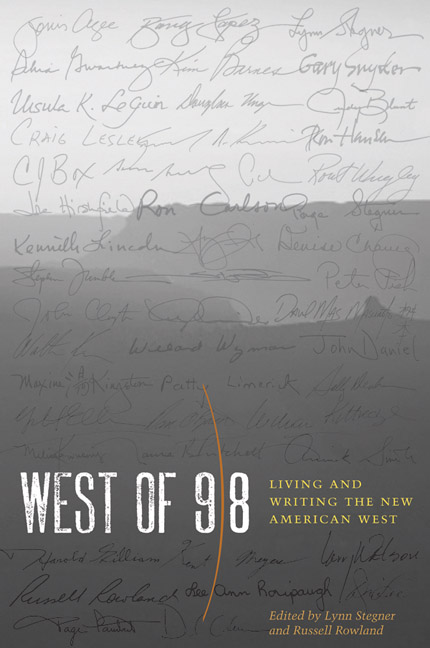 Cover of West of 98