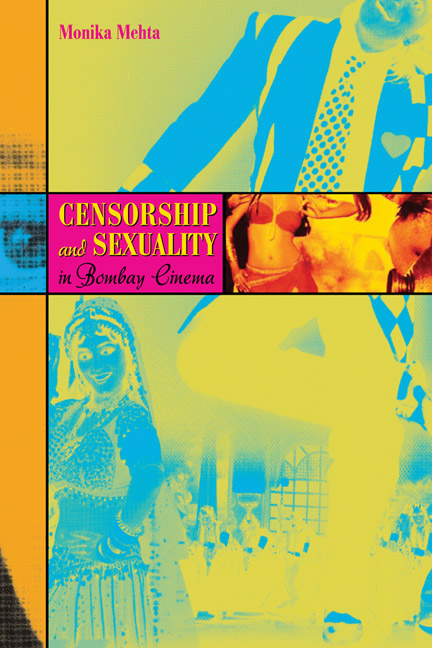 Cover of Censorship and Sexuality in Bombay Cinema