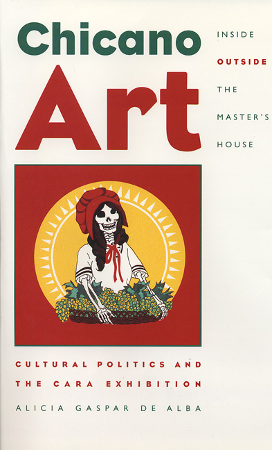 Cover of Chicano Art Inside/Outside the Master's House
