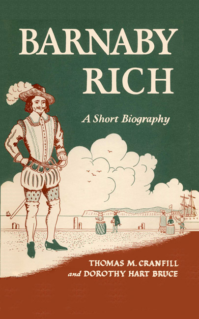 Cover of Barnaby Rich