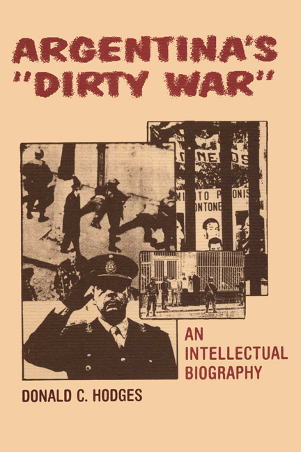"Cover of Argentina's ""Dirty War"""