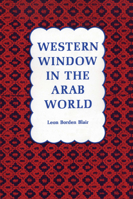 Cover of Western Window in the Arab World