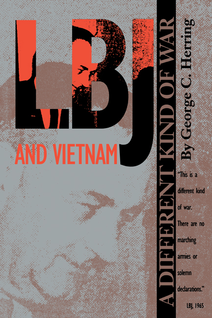 Cover of LBJ and Vietnam