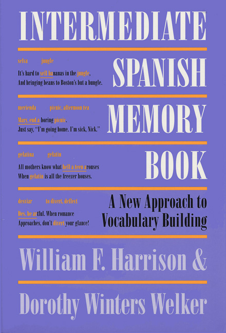 Cover of Intermediate Spanish Memory Book