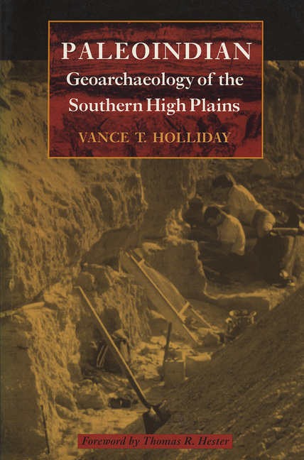 Cover of Paleoindian Geoarchaeology  of the Southern High Plains
