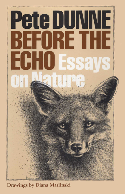 Cover of Before the Echo