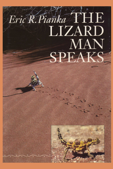 Cover of The Lizard Man Speaks