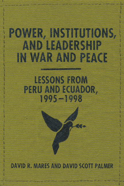 Cover of Power, Institutions, and Leadership in War and Peace