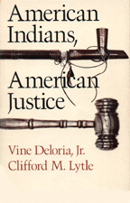 Cover of American Indians, American Justice