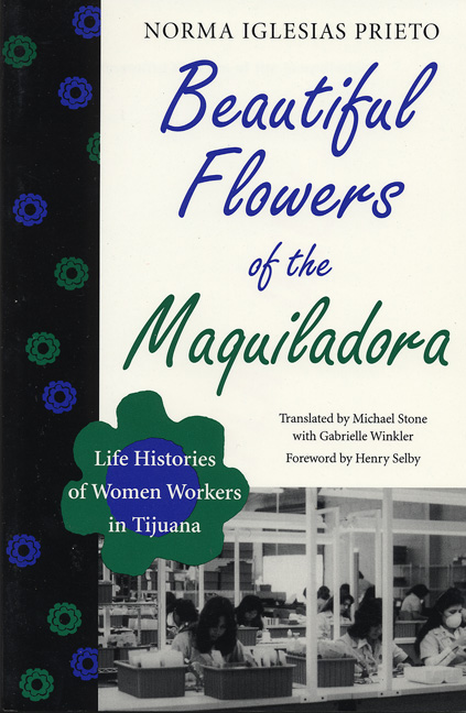 Cover of Beautiful Flowers of the Maquiladora