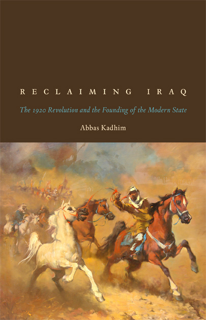 Cover of Reclaiming Iraq