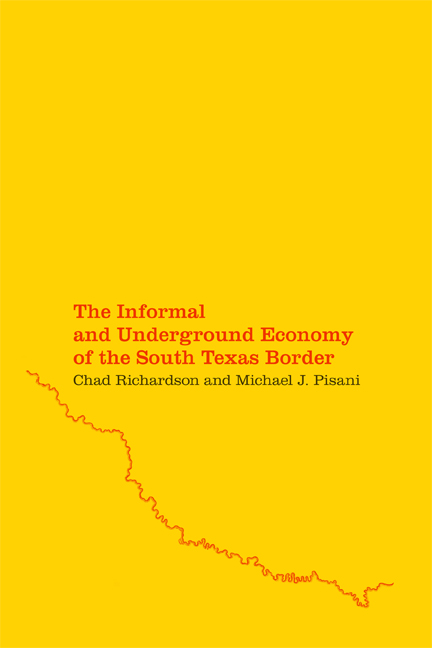 Cover of The Informal and Underground Economy of the South Texas Border