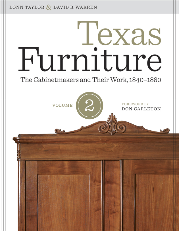 Cover of Texas Furniture, Volume Two