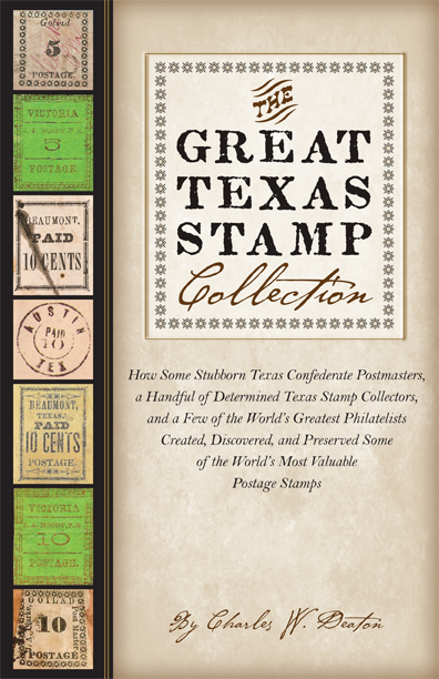 Cover of The Great Texas Stamp Collection