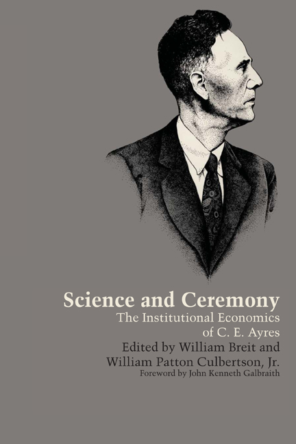 Cover of Science and Ceremony