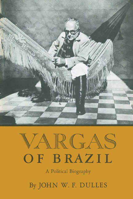Cover of Vargas of Brazil