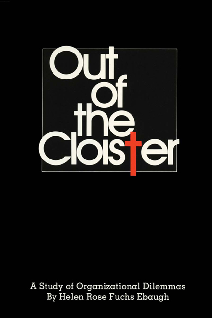 Cover of Out of the Cloister