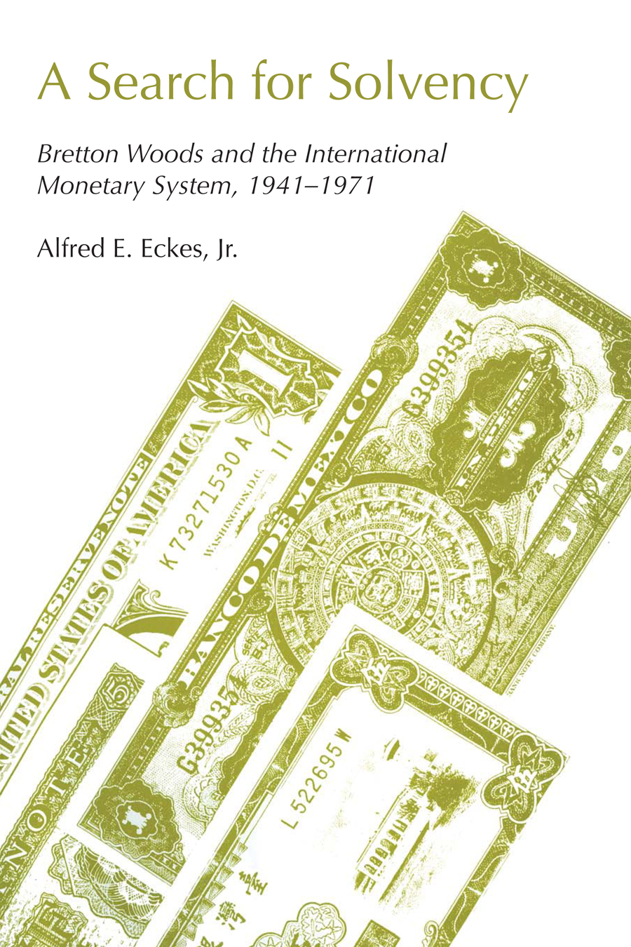 Cover of A Search for Solvency