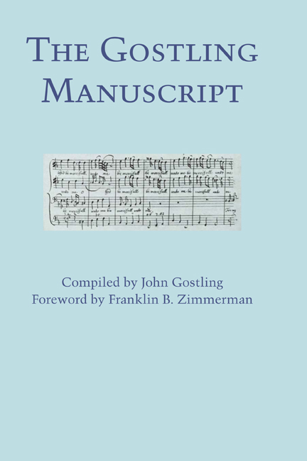 Cover of The Gostling Manuscript