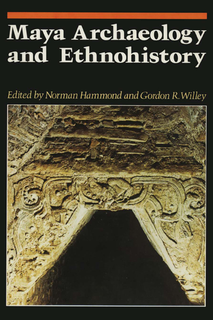 Cover of Maya Archaeology and Ethnohistory