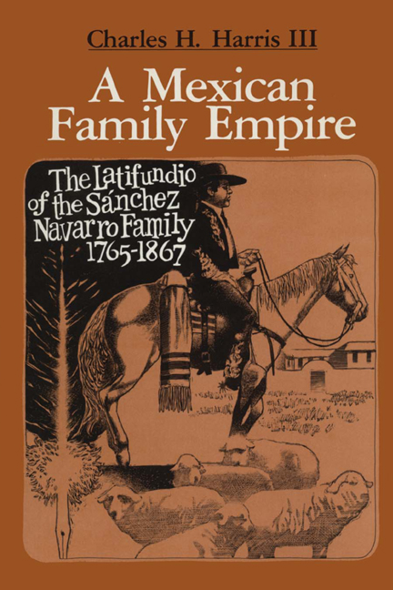 Cover of A Mexican Family Empire