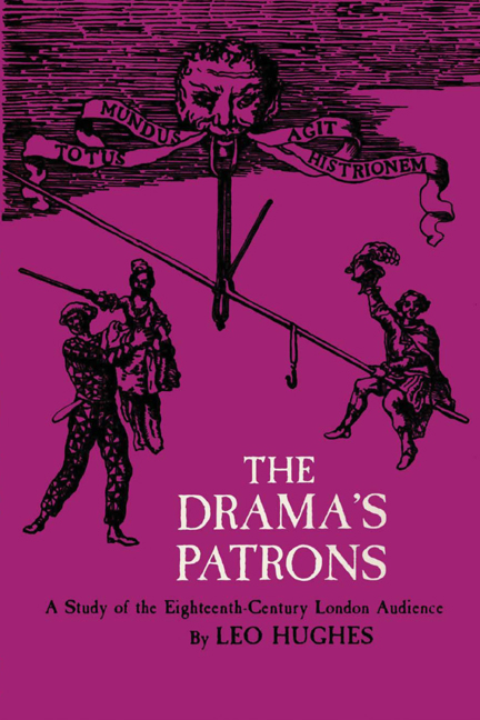 Cover of The Drama's Patrons