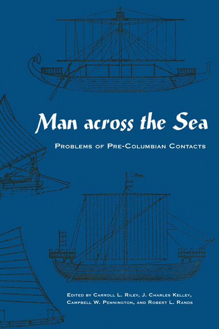 Cover of Man Across the Sea