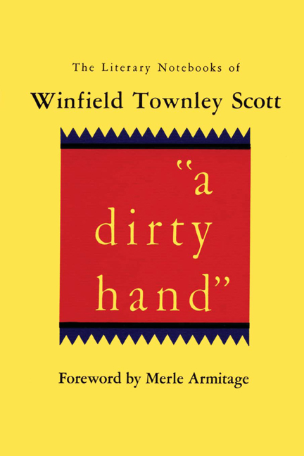 "Cover of ""a dirty hand"""