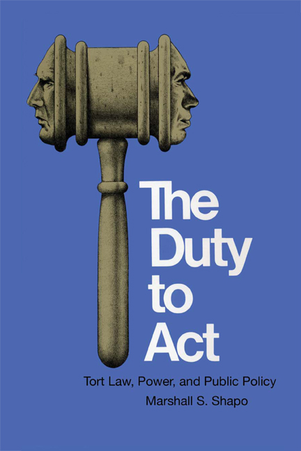 Cover of The Duty to Act