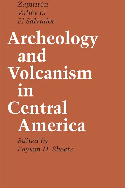 Cover of Archeology and Volcanism in Central America