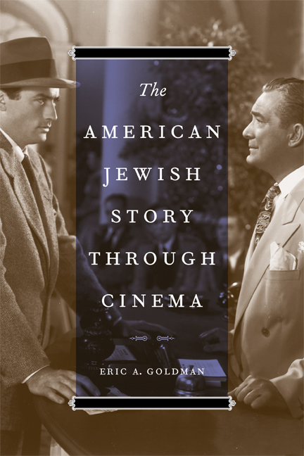 Cover of The American Jewish Story through Cinema