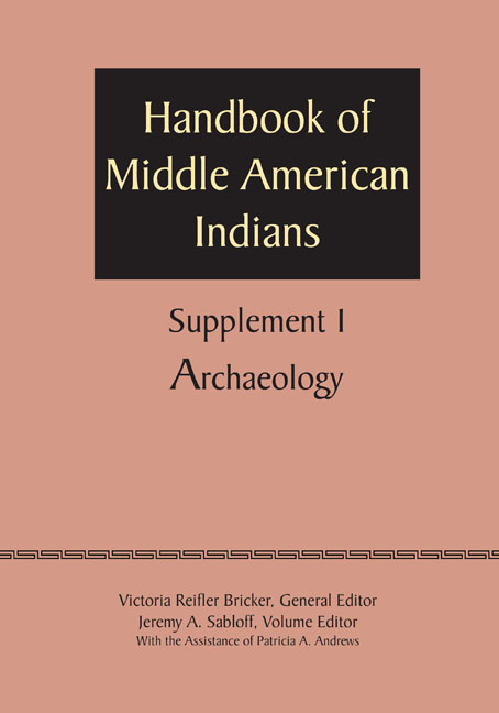Cover of Supplement to the Handbook of Middle American Indians, Volume 1