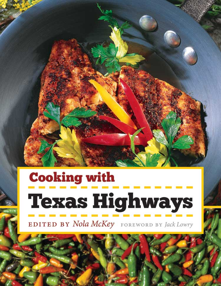 Cover of Cooking with Texas Highways