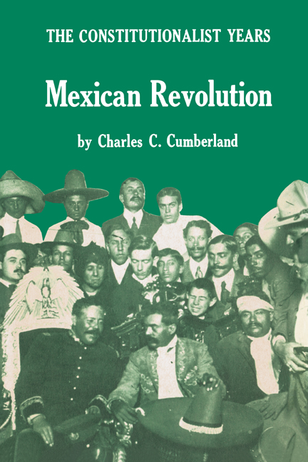 Cover of Mexican Revolution