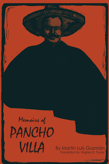 Cover of Memoirs of Pancho Villa