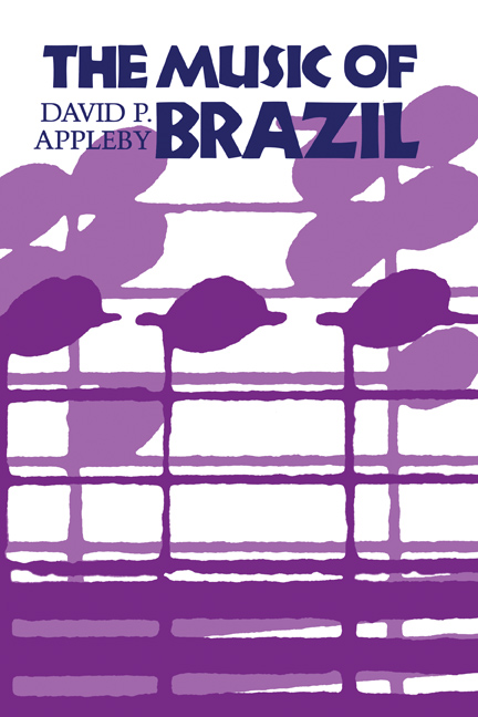 Cover of The Music of Brazil