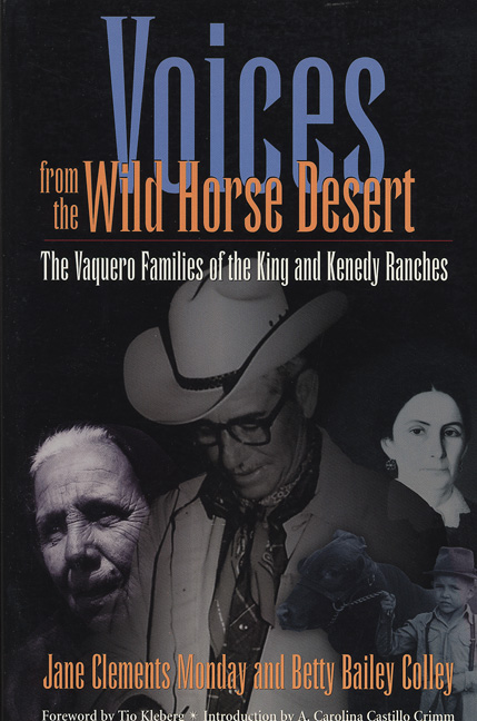 Cover of Voices from the Wild Horse Desert