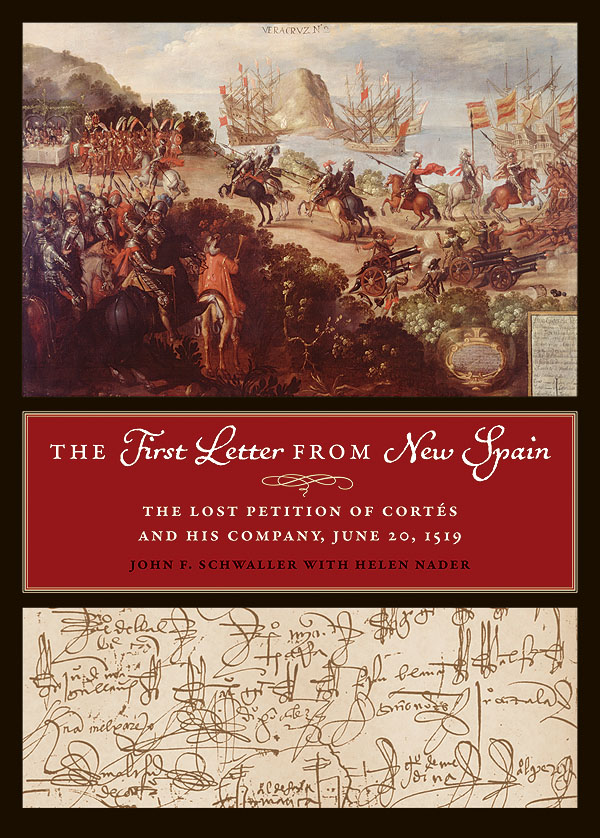 Cover of The First Letter from New Spain