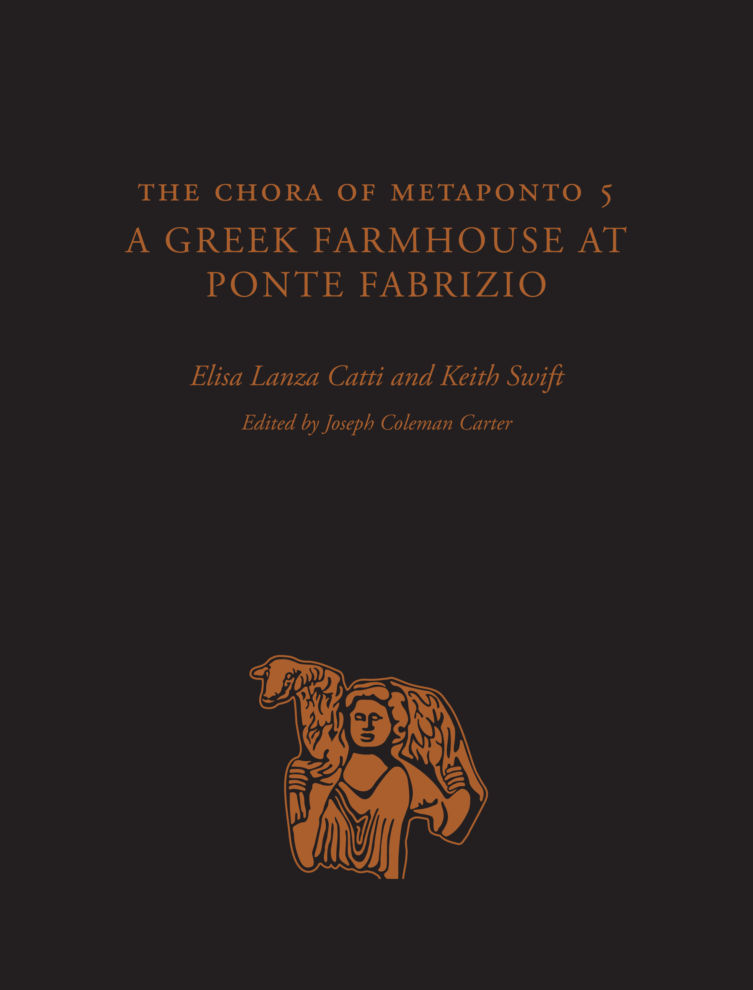 Cover of The Chora of Metaponto 5