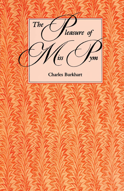 Cover of The Pleasure of Miss Pym