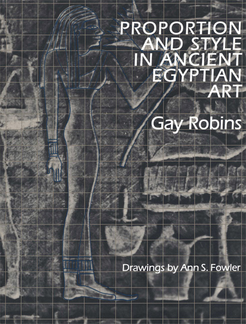 Cover of Proportion and Style in Ancient Egyptian Art