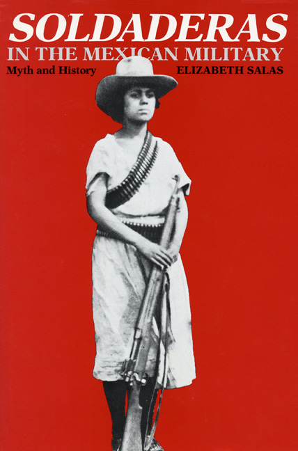 Cover of Soldaderas in the Mexican Military
