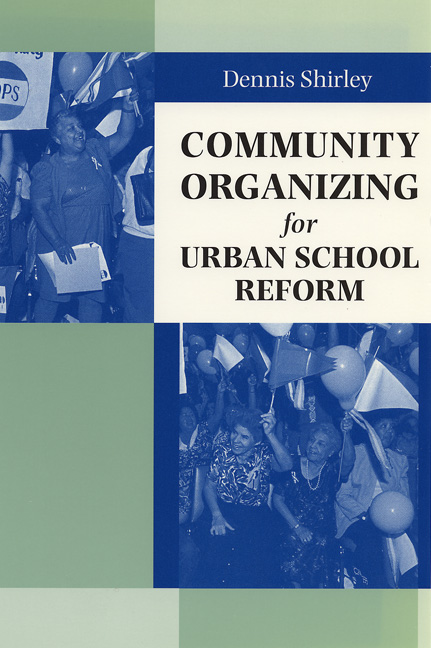 Cover of Community Organizing for Urban School Reform