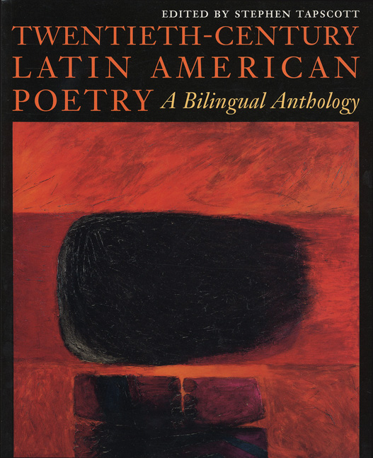 Cover Of Twentieth Century Latin American Poetry