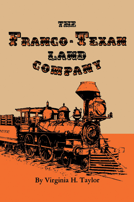 Cover of The Franco-Texan Land Company