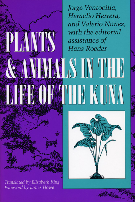 Cover of Plants and Animals in  the Life of the Kuna