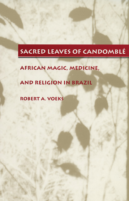 Cover of Sacred Leaves of Candomblé