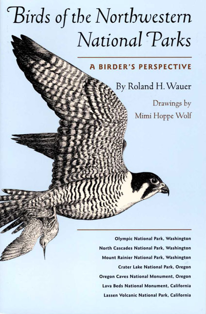 Cover of Birds of the Northwestern National Parks