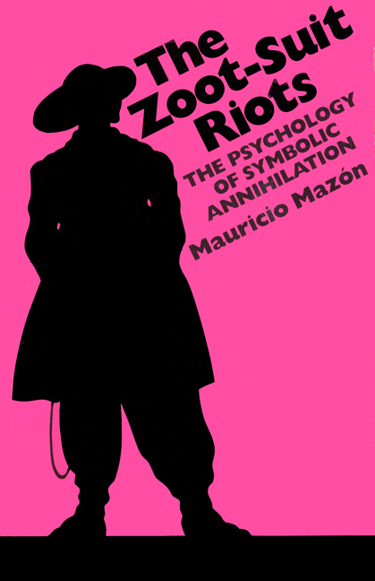 Cover of The Zoot-Suit Riots